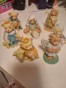 Cherished Teddies Nativity Scene ( Angel)!