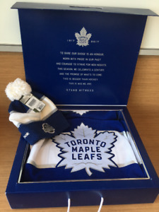 Mitch Marner Signed Jersey Centennial Classic Package