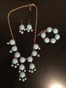 3 piece costume jewelry set