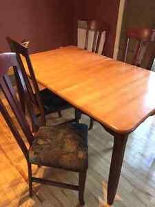Set de table cuisine 4 chaise