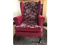 Queen Anne style chair not Parker Knoll