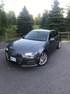 Lease takeover-Audi A4 Komfort Quattro-Winter tires inc.-545$/mo