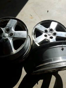 """Winter tires and rims.   16"""" rims.  Tires  235 65 R16"""