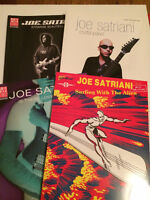 Joe Satriani Guitar Tab Books
