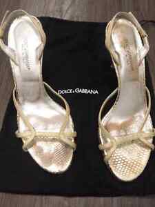 DOLCE&GABBANA sandals with dust bag