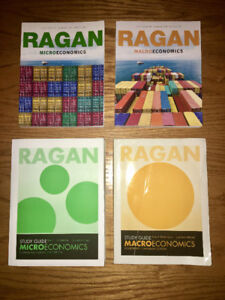 Ragan Microeconomics and Macroeconomics 15th Edition + Guides