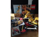 VINTAGE LEGO SET 856 FROM 1978 - boxed with manual