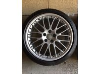 "Genuine Audi 19"" Speedline Alloy Wheels"