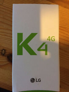 LG K4 BRAND NEW SEALED IN BOX London Ontario image 1