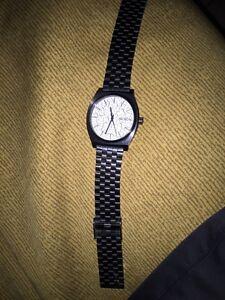 Black and white Nixon watch Stratford Kitchener Area image 1