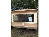 Static caravan 33x10 Temporary accommodation