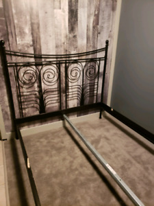 Queen size Ikea bed frame