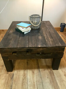 Solid Wood, Rustic Coffee Table