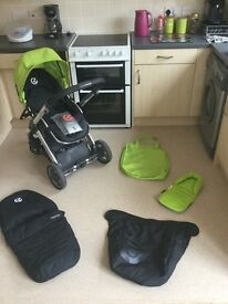 Oyster pushchair