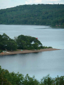 Gorgeous 1 acre WATERFRONT property