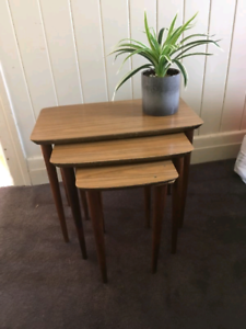 Moving house sale - nest tables
