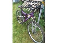 mounting bike