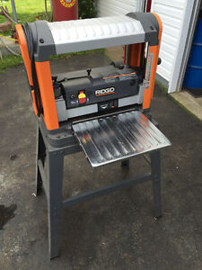 """Rigid 13"""" Thickness Plainer with Stand"""
