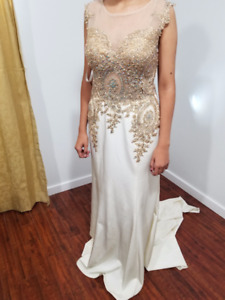 Gold and Ivory dress for sale