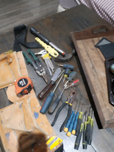 Tools and pouch