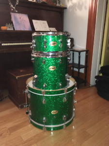 2009 Ludwig Centennial Drums (Shell pack 3 pieces)