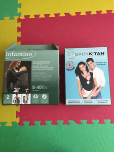 Infantino and Baby K'Tan baby carriers