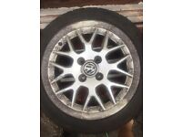 Volkswagen Polo 6n2 GTI Wheels 4X100