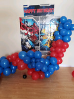 Balloon and backdrop for free