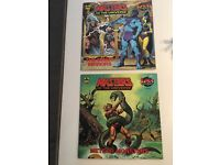 Masters of the Universe comic books.