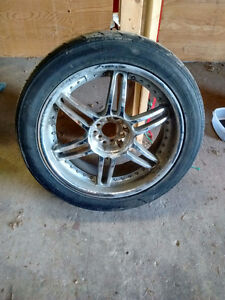 Set of 4 chrome rims