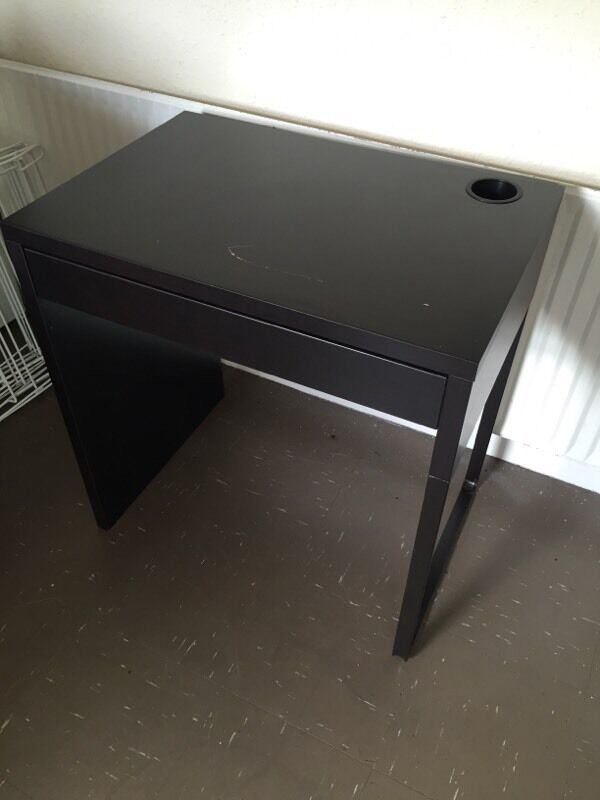 Desk Micke Black Brown 20163 in Finsbury Park London  : 86 <strong>Old</strong> Desk from www.gumtree.com size 600 x 800 jpeg 33kB