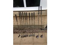 Wilson x31 clubs, 2 woods and a putter. (New price).