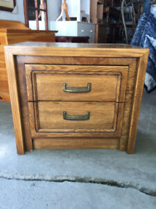 Side Table with two Drawers
