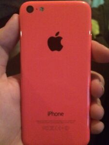 Perfect condition pink MTS iPhone 5C