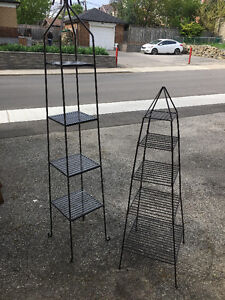 Wrought Iron Plant/Display Stands