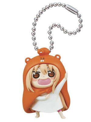 Himouto Umaru-Chan Mascot PVC Keychain SD Figure ~ Doma #A Confident Face @86039