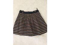 Atmosphere Black and Tan skirt sz18