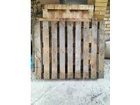 x3 wooden pallets