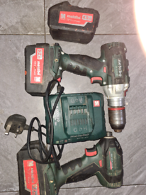 £130 metabo impacter and driver