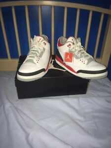 Fire red 3's 2013