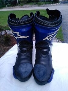 ALPINE STARS MOTORCYCLE RACE/RIDING BOOTS WITH INNER BOOT 45 Windsor Region Ontario image 5