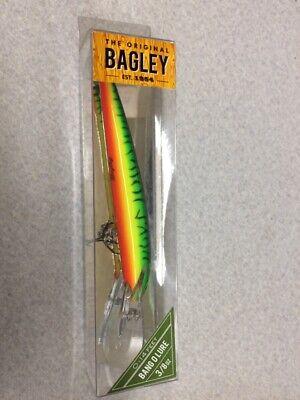 Bagley Bang O BLDD4-AOB Fishing Lure New in Box Albino Orange Color