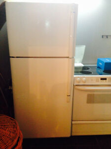 Over and fridge