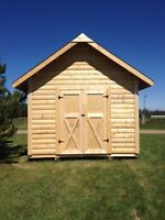 Custom built shelters and sheds.