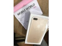 IPhone 7 Plus 32gb with 11 month apple warranty