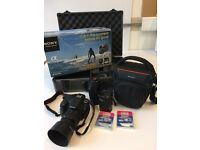 Sony a58 digital SLR kit with extra lenses & filters