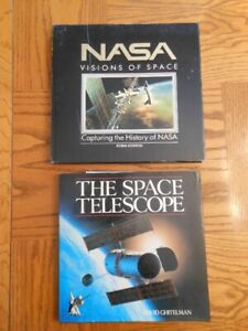 3 Astronomy Space Hardcover Picture Books + Star birth Poster