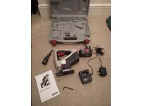 18V Performance Power Cordless JigSaw with Battery, Charger and Case