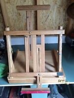 Artist table top portable easel