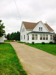 NOTRE-DAME HOUSE FOR SALE - MONCTON AREA - OVER 1 ACRE!